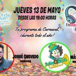 """""""EnMascárate En Carnaval"""" con Josué Quevedo y MásQlocas"""