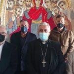 El Orfeón La Paz, es recibido por el Obispo de Tenerife