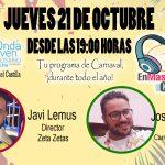 'EnMascárate En Carnaval' con Javi Lemus y Josué Quevedo